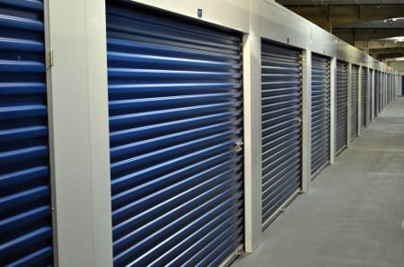 Interior view of Tampa self storage facility
