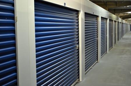 Interior view of Tampa self storage facility