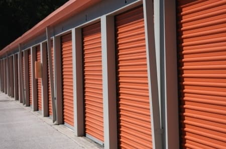 Drive up access is available at our Odessa self storage
