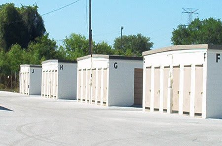 Secure drive up storage units in Clearwater, FL