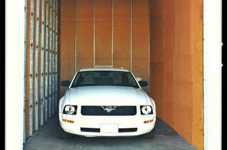Vehicle storage in Hayward self storage units