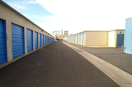Gated units at our Reno self storage