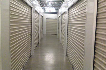 Interior hallway at Valley Village self storage