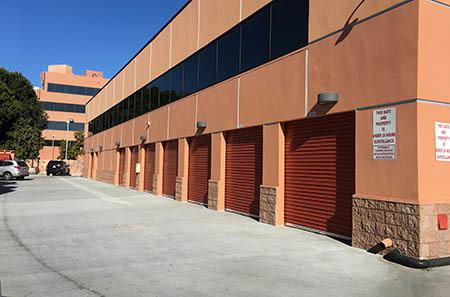 Valley Village storage units exterior