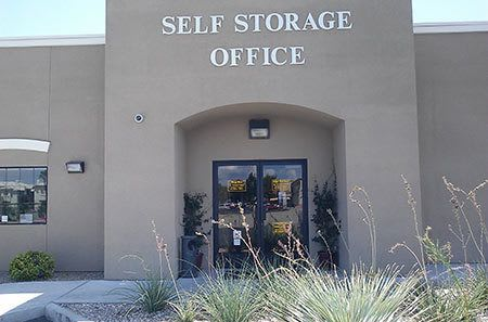 Self storage office in Las Vegas