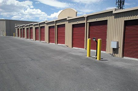 Drive up secure storage units in Las Vegas