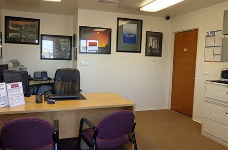Office at Big E Self Storage in Stockton