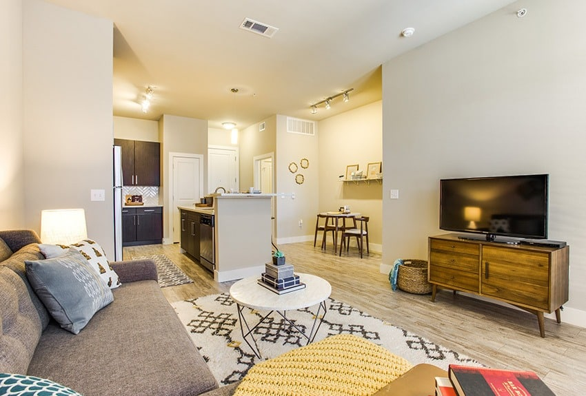 Open Floor Plans at Maple District Lofts in Dallas, TX.