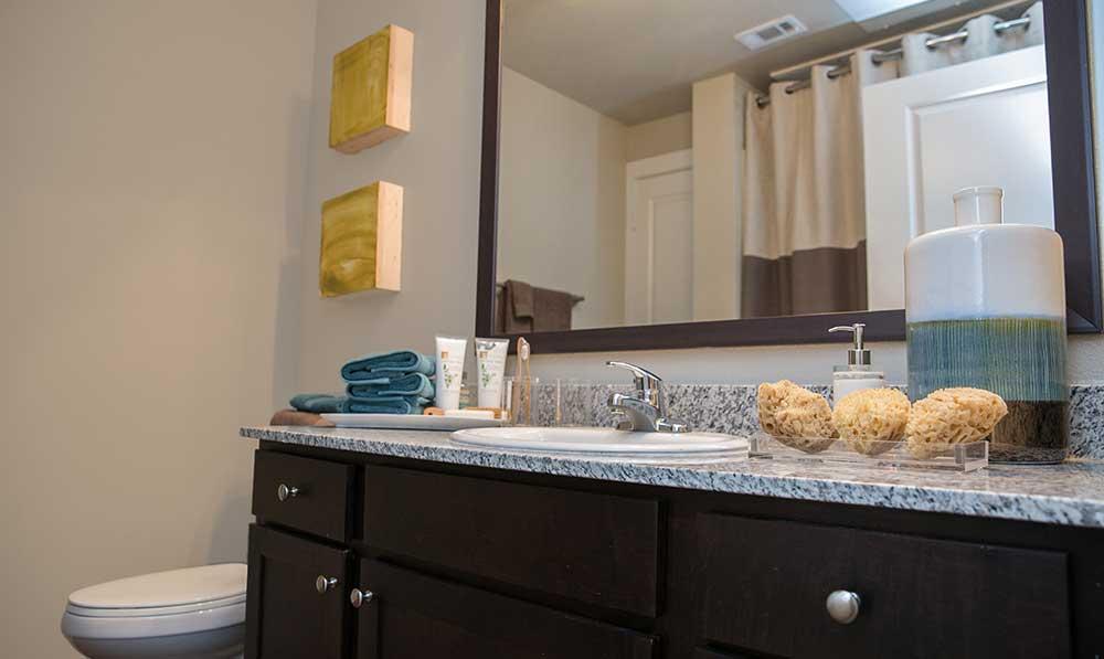 Bathroom at our san antonio apartments