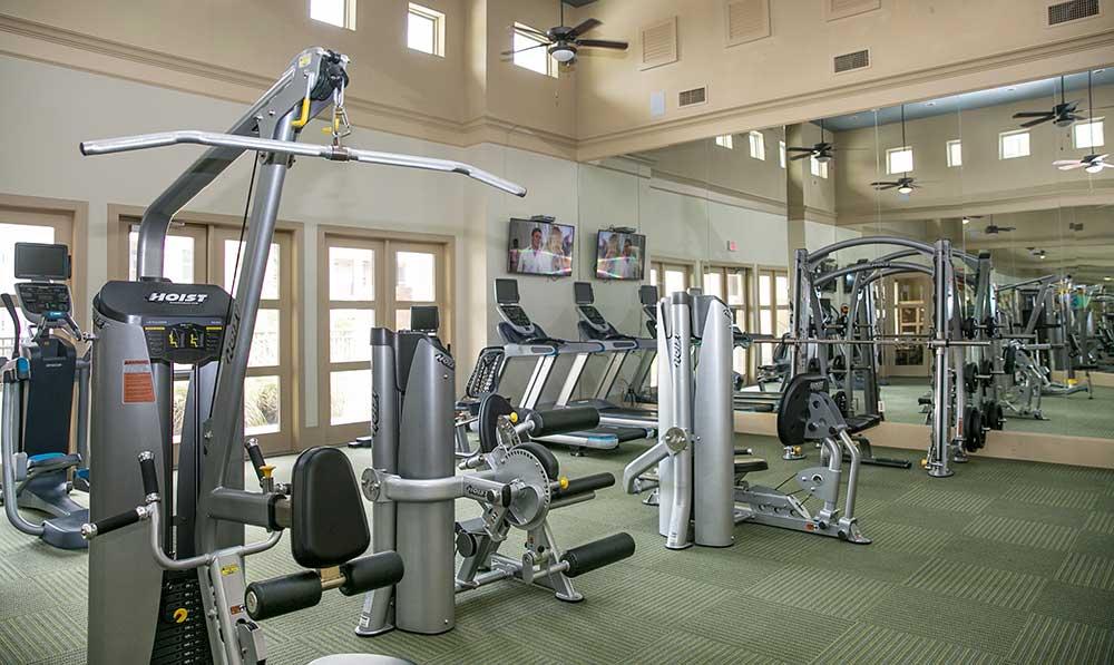 Gym at our san antonio apartments