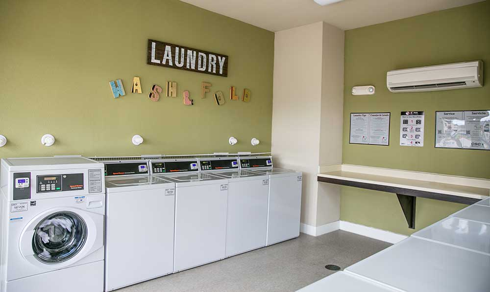 On-site laundry facility at our san antonio apartments