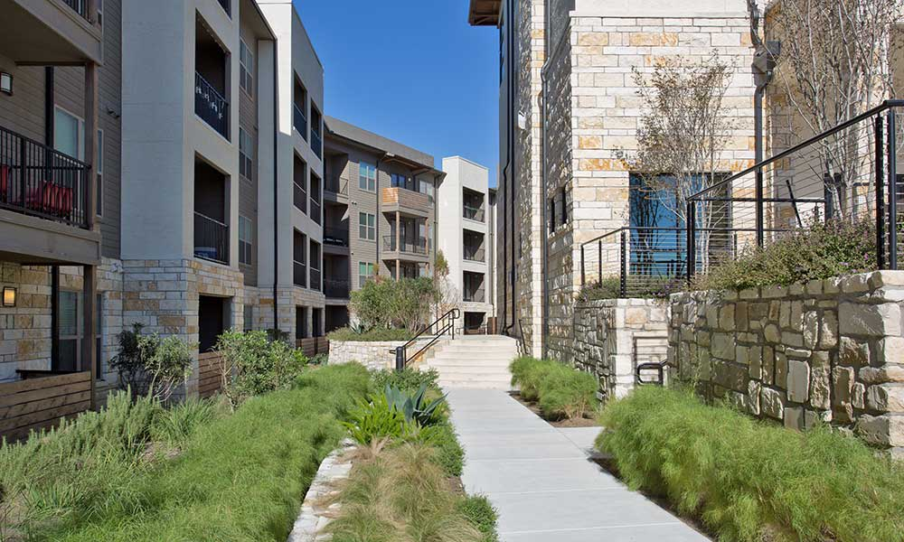 Take stroll through the beautiful property of Axis at The Rim