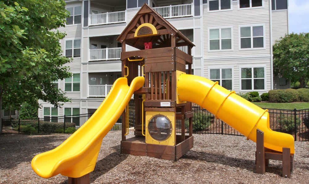 Living at Southern Oaks at Davis Park includes a playground