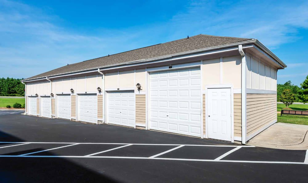 Garages Available at Southern Oaks at Davis Park in Morrisville, NC