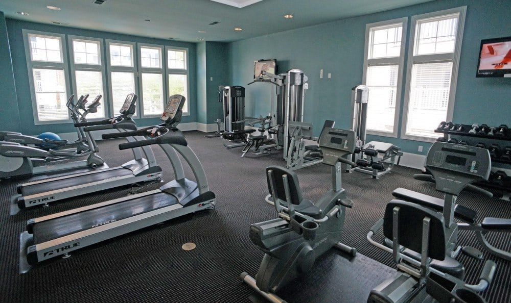 Fitness Center at Southern Oaks at Davis Park in Morrisville, NC