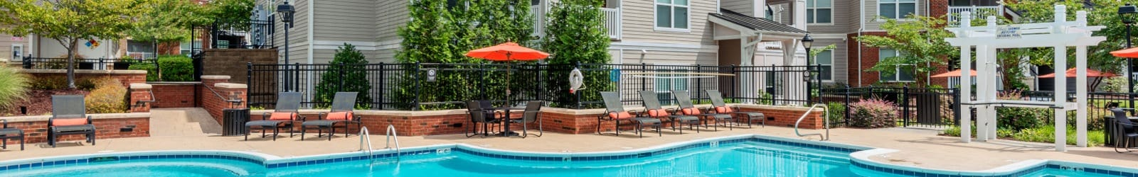 1, 2 & 3 bedrooms offered at apartments in Morrisville