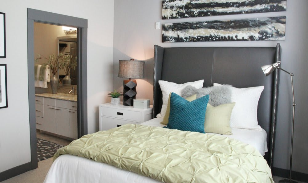 Another Apartment Bedroom at Axis at Wycliff in Dallas, TX