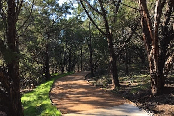Over a Mile of Walking Trails in the Nature of South Austin
