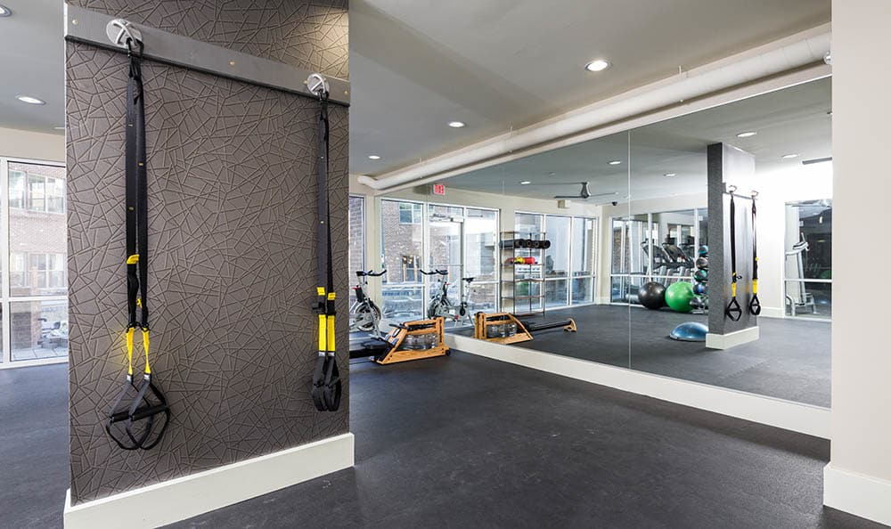 Fitness Center at One Metrocenter in Nashville, TN