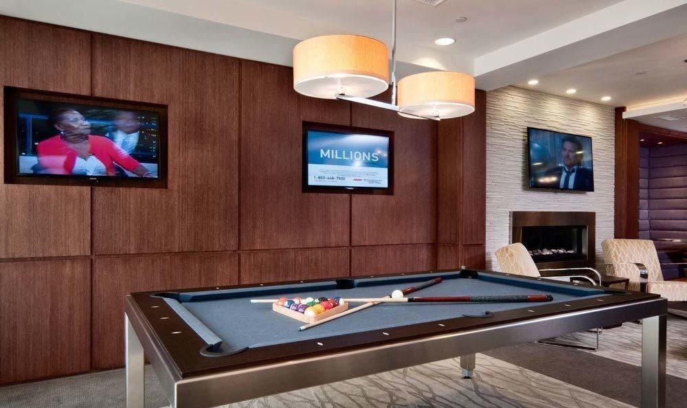 Billiards Table at Osprey Cove Resident Lounge