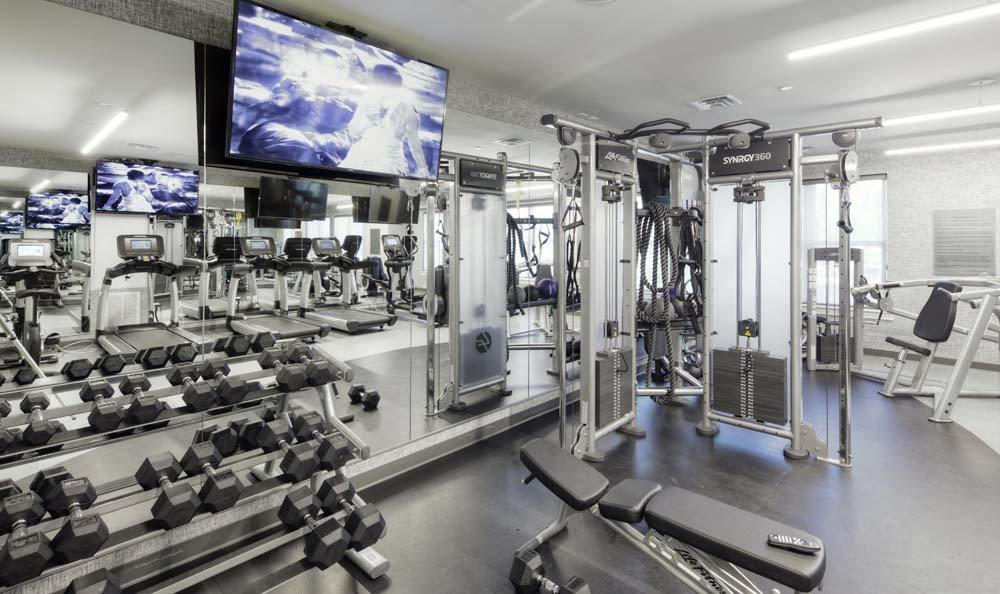 State of the art brand new fitness center osprey cove apartments
