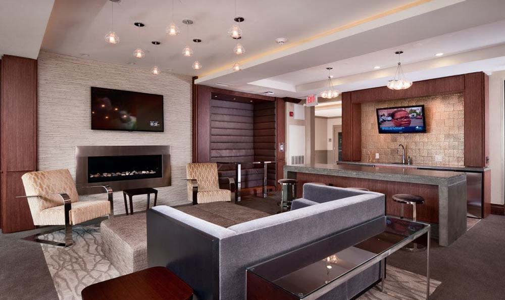 Osprey Cove also Features a Sleek Modern Resident Lounge