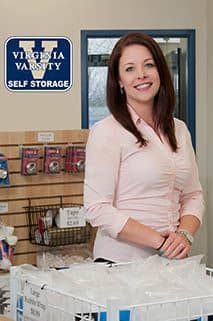 Team member Andrea at Virginia Varsity Transfer & Self Storage