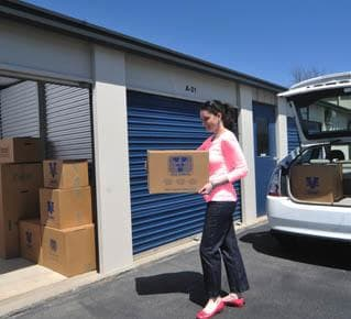 Self storage units to fit your need at Virginia Varsity Transfer & Self Storage