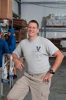 Team member Levi at Virginia Varsity Transfer & Self Storage