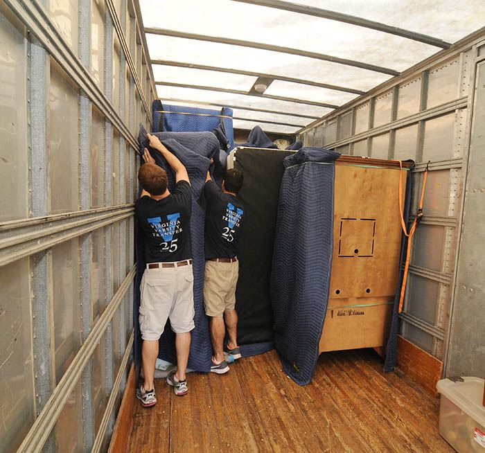 Long distance moving services at Virginia Varsity Transfer