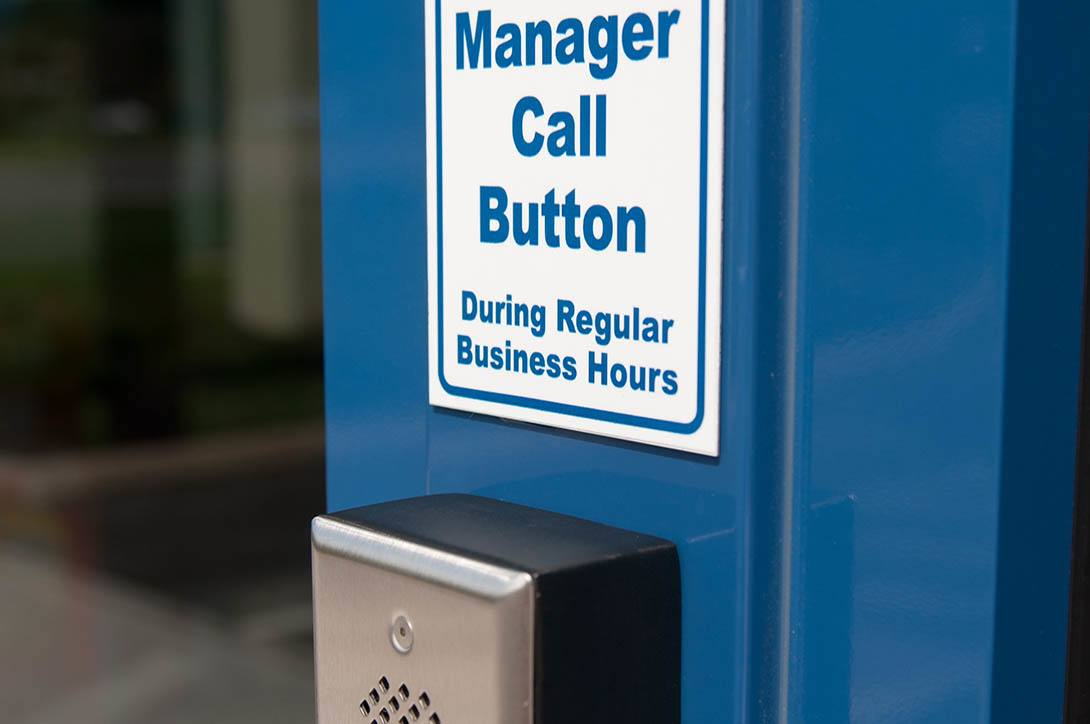 Manager call button