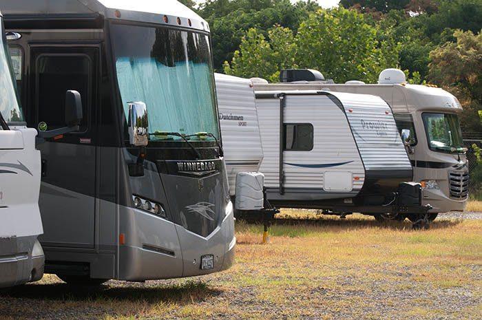 RV/Boat parking at Virginia Varsity Self Storage