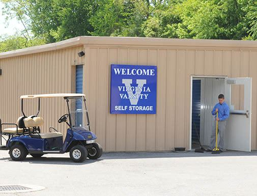 Helping with your storage needs at Virginia Varsity Self Storage
