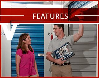 Storage Features At Virginia Varsity Self Storage