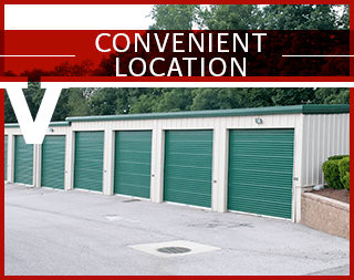Virginia Varsity Self Storage is conveniently located in Christiansburg