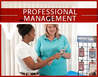 Professional management at Virginia Varsity Self Storage