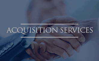 Acquisition services at WRH Realty Services, Inc