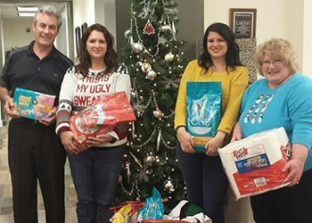 WRH Realty Services, Inc Donating Christmas Gifts
