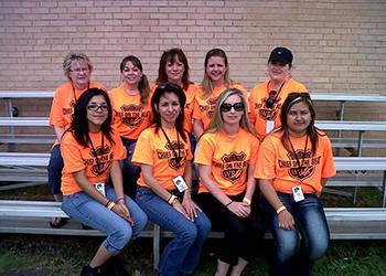 WRH Realty Services, Inc Employees Volunteering Giving Back to the Community