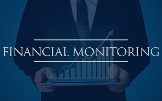 Financial monitoring services at WRH Realty Services, Inc