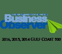 Business Observer award