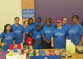 WRH Realty Services, Inc Volunteering for Relay For Live