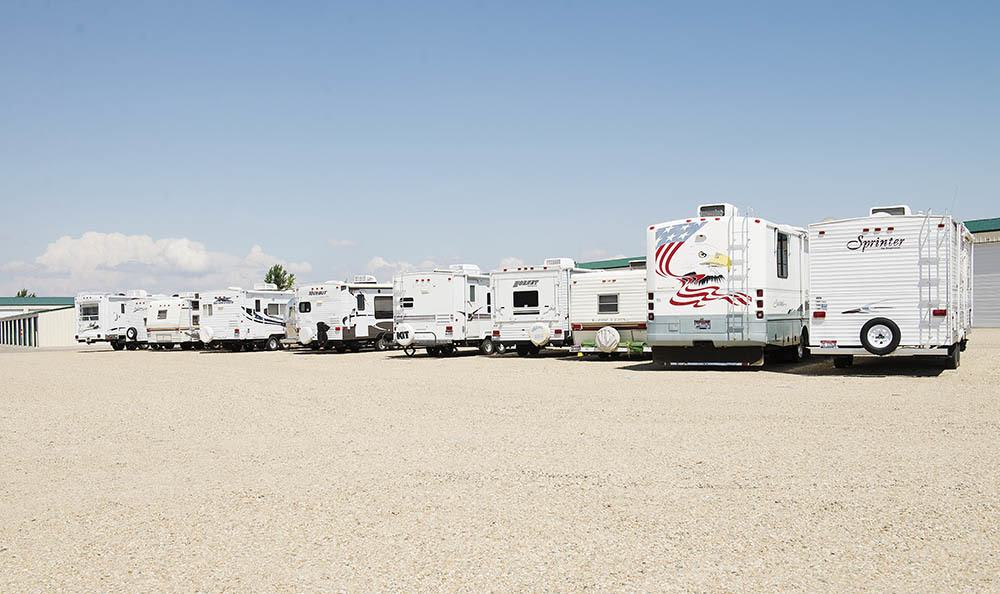 Nampa Offers Rv Parking With Our Self Storage Facility
