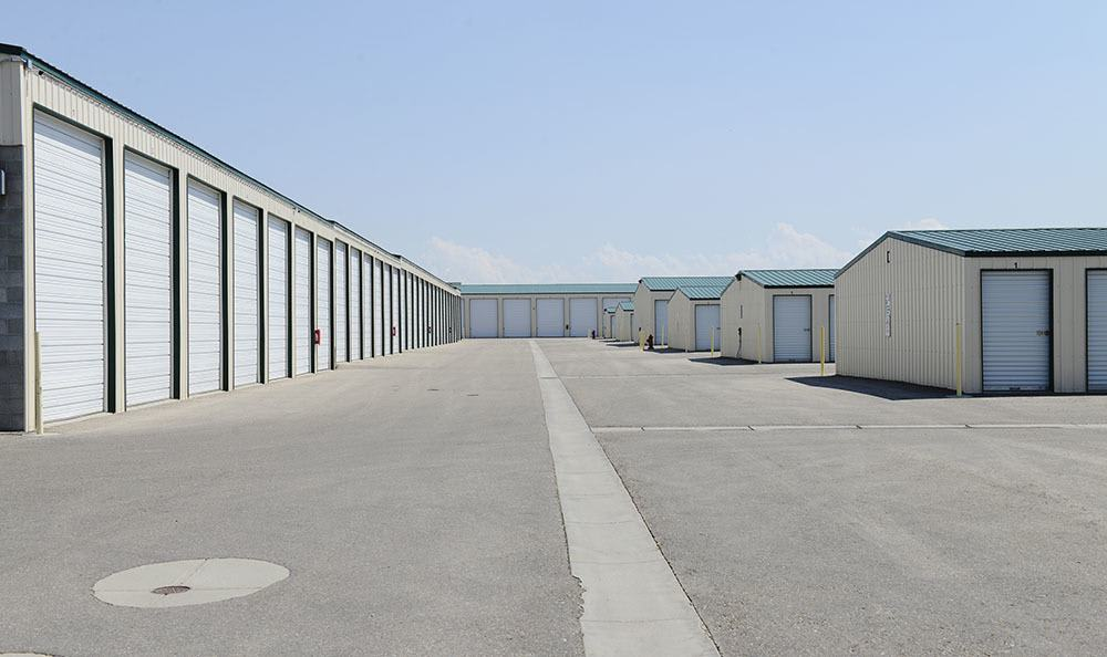 Nampa Self Storage Offers Many Exterior Units