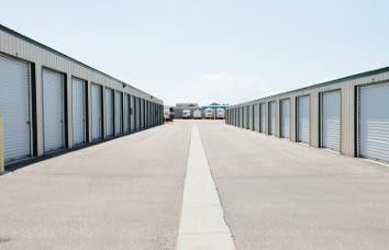 Nampa Self Storage Wide Driveways