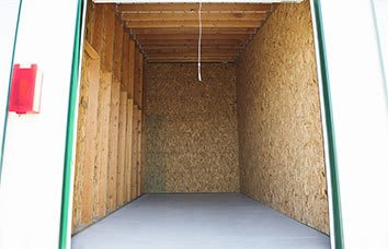 Pasco Self Storage Unit Interior