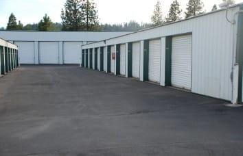 Coeur d'Alene Self Storage Unit Exterior