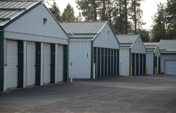 Coeur d'Alene Self Storage Garage Units Available