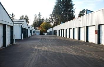 Coeur d'Alene Self Storage Wide Driveways