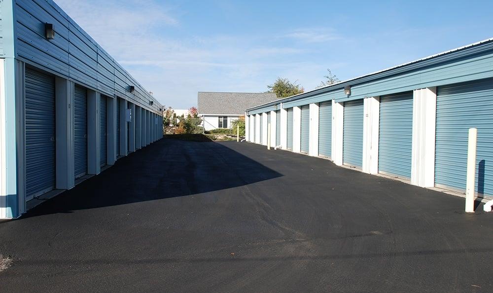 exterior self storage units in Coeur d'Alene